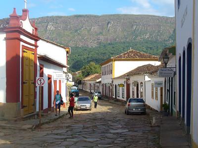010 Tiradentes, Minas Gerais, Rua Direita, Houses beginning of the 18th  C
