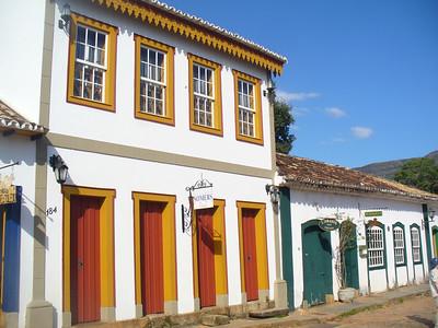 011 Tiradentes, Minas Gerais, Rua Direita, Houses beginning of the 18th  C