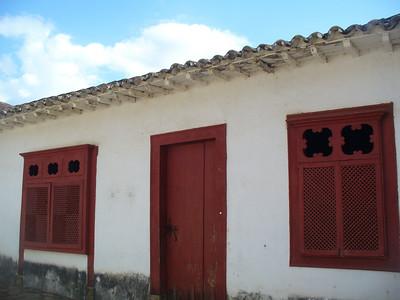 017 Tiradentes, Minas Gerais, Rua Direita, Houses beginning of the 18th  C