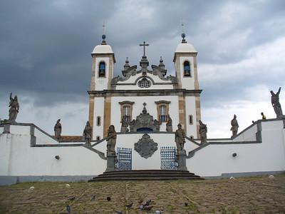 044 Congonhas, Minas Gerais, Basilica do Senhor Bom Jesus de  Matozinhos, 1757