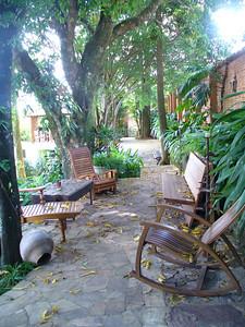 040 Tiradentes, Minas Gerais, Rua Direita, Inside Courtyard