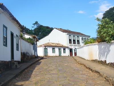 009 Tiradentes, Minas Gerais, Rua Direita, Houses beginning of the 18th  C
