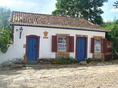 027 Tiradentes, Most houses and churches were built at the beginning of the 18th  C