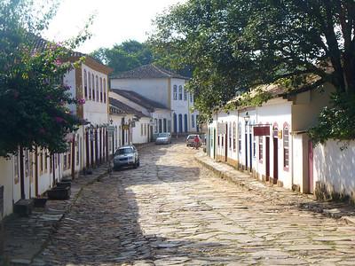 013 Tiradentes, Minas Gerais, Rua Direita, Houses beginning of the 18th  C