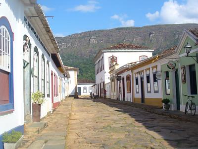 016 Tiradentes, Minas Gerais, Rua Direita, Houses beginning of the 18th  C