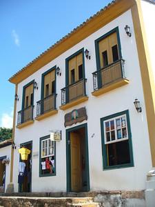 038 Tiradentes, Minas Gerais, Rua Direita, Houses beginning of the 18th  C