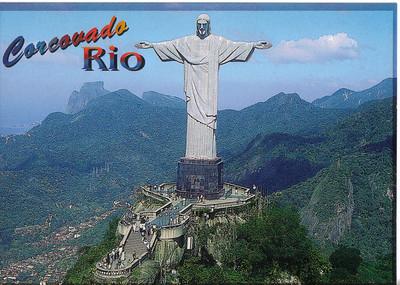 002 Rio De Janeiro, Corcovado Hill and Christ The Redeemer, Altitude 710 meters