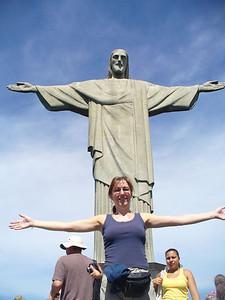 006 Rio De Janeiro, Christ The Redeemer, Width from hand to hand 28 meters, Luce