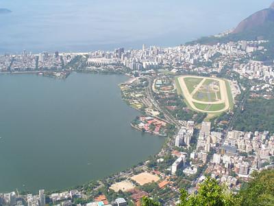 016 Rio De Janeiro, Rodrigo de Freitas Lagoon, Gavea District and Jockey Club
