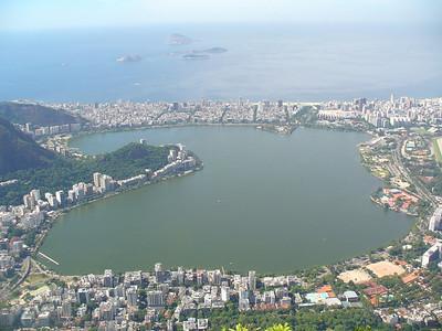 015 Rio De Janeiro, Rodrigo de Freitas Lagoon, Ipanema and Leblon Beaches, 4 km long