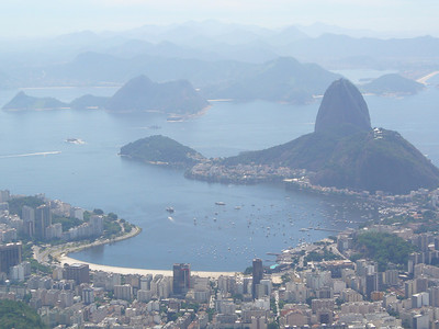 012 Rio De Janeiro, View of Sugar Loaf and the backdrop of Guanabara Bay