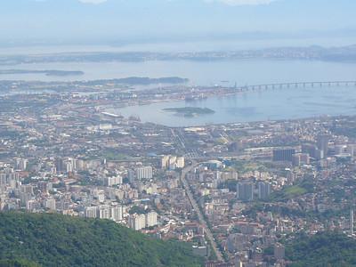 009 Rio De Janeiro, Guanabara Bay and The Rio-Niteroi Bridge