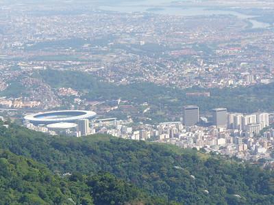 008 Rio De Janeiro, The Tijuca District and The Maracana Stadium
