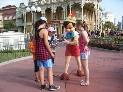 031 Jour 2, Magic Kingdom, Character Greetings, Pinocchio