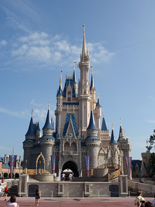 037 Jour 2, Magic Kingdom, Cinderella Castle