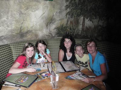 022 Jour 1, Downtown Disney, T-REX Restaurant