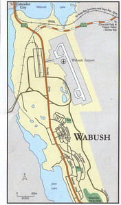 026_Labrador  Wabush  Map