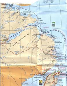 038_Labrador  Map