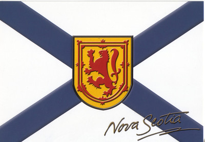 0002_Nova Scotia Flag  Granted in 1625 by King Charles