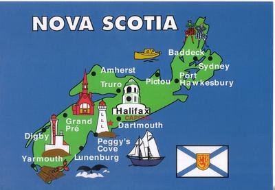 0001_Nova Scotia  Map