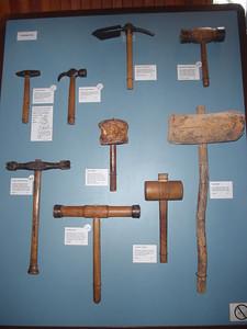 0609_Sherbrooke Village  Carpenter Shop  Pounding Tools