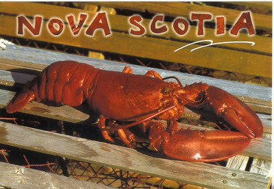 0005_Maritimes Provinces  Lobsters are one of the favorite entrees