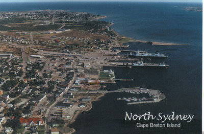 0008_North Sydney  Seaport town, gateway to Newfoundland