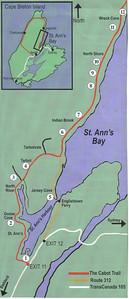 0010_Cape Breton Island  St  Ann's Bay  Map
