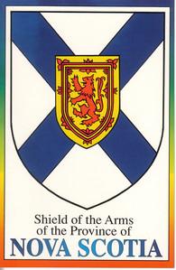 0003_Nova Scotia Shield of the Arms  1621  Canada oldest province