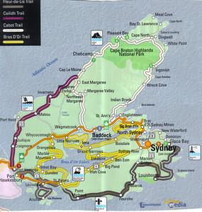 0006_Cape Breton Island  Map