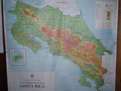 002_Costa Rica Map