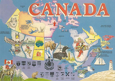 001_Map of Canada