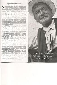 008_Orillia  Stephen Butler Leacock  1869-1944