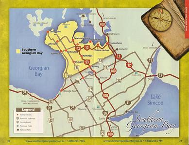 029_Southern Georgian Bay Map