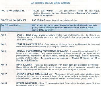 028_La Route De La Baie James