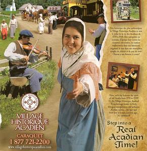 044_Caraquet  Village Historique Acadien