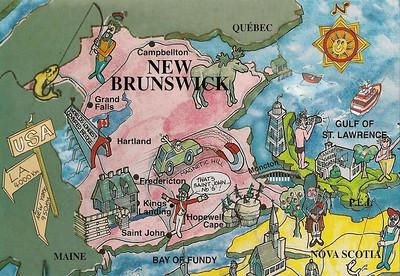001_New Brunswick  Map