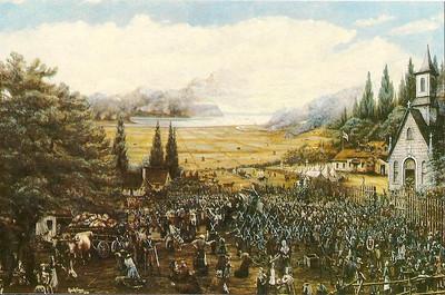 024_La Déportation des Acadiens  Toile, 1893, George Craig