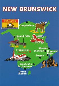 002_New Brunswick  Map