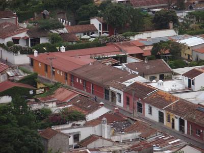 015  Antigua  Overview from Cerro de la Cruz