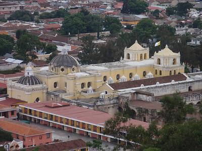 017  Antigua  Overview from Cerro de la Cruz