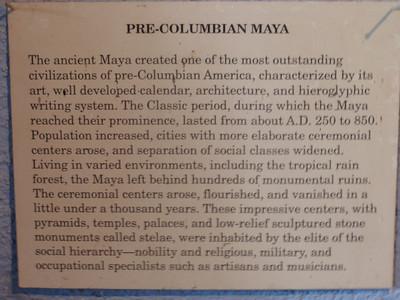 006  Pre-Columbian Maya