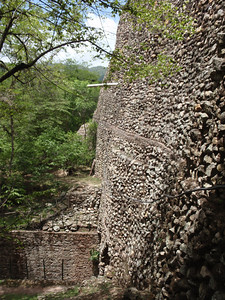 195  Copan ruins  Exit of the Jaguar Tunnel