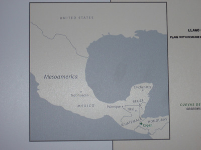 001  Mesoamerica  Copan Location