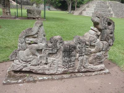 096  Copan Ruins  The Grand Plaza  Altar