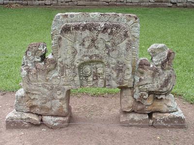 093  Copan Ruins  The Grand Plaza  Altar