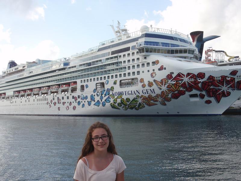 030_Nassau  Norwegian Gem  Cruise Boat  Marianne