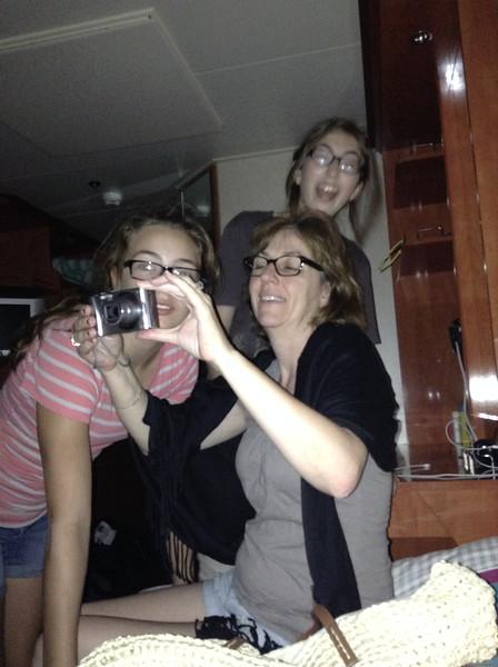 006_Norwegian Gem  Cruise Boat  Luce, Joelle and Marianne