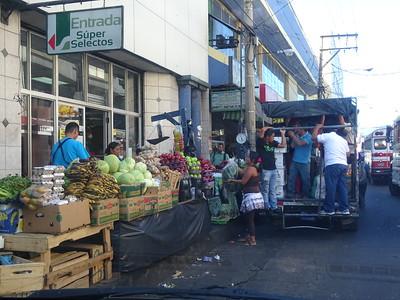 026_San Salvador  Busy Streets