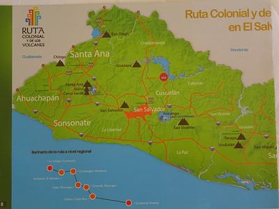 008_El Salvador Map